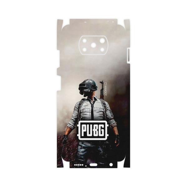 برچسب پوششی ماهوت مدل PUBG-Game-FullSkin مناسب برای گوشی موبایل شیائومی Poco X3 NFC