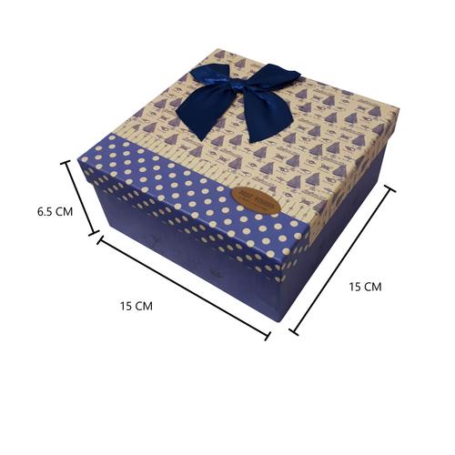 جعبه هدیه طرح پاپیون مدل BEST WISHES کد 3010