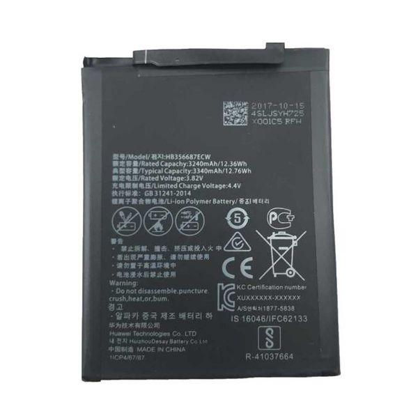 باتری موبایل مدل HB356687ECW ظرفیت 3340 میلی آمپر ساعت مناسب برای گوشی موبایل هوآوی NOVA 3i