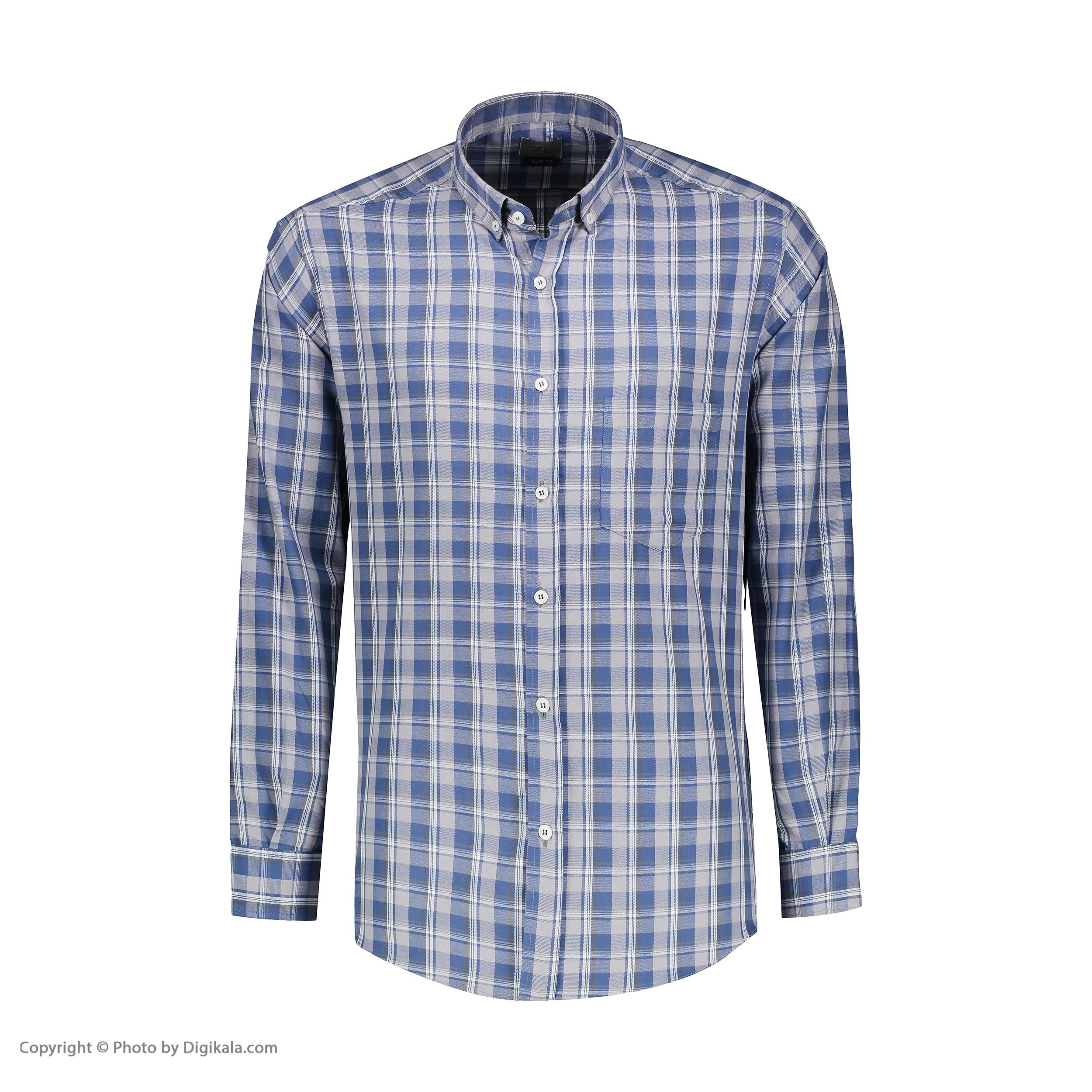 پیراهن آستین بلند مردانه زی مدل 1531339MC