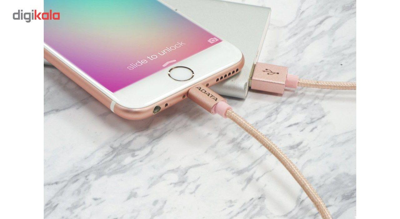 کابل تبدیل USB به لایتنینگ ای دیتا مدل Sync And Charge طول 1 متر main 1 13