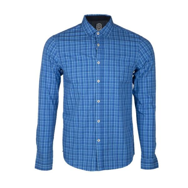 پیراهن آستین بلند مردانه جوتی جینز مدل 647