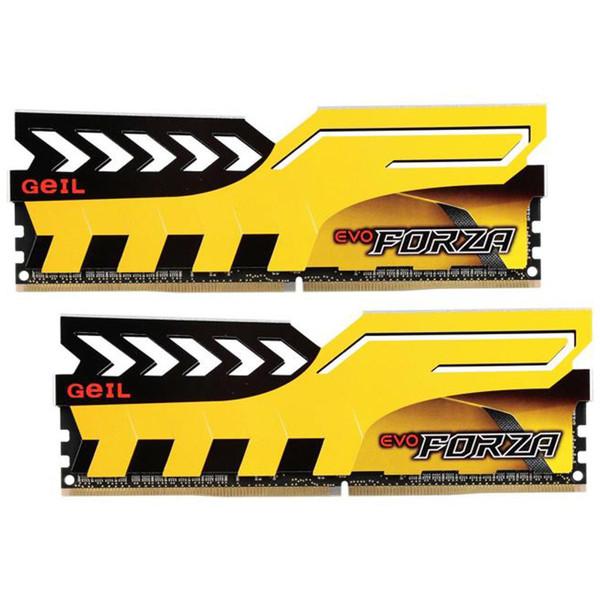 رم دسکتاپ DDR4 دو کاناله 3000 مگاهرتز CL15 گیل مدل Forza ظرفیت 8 گیگابایت