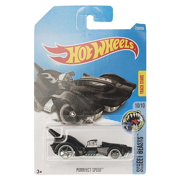 ماشین بازی متل سری هات ویلز مدل Purrfect Speed
