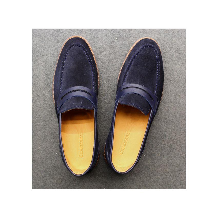 کفش روزمره مردانه چرم آرا مدل sh025 کد so -  - 10