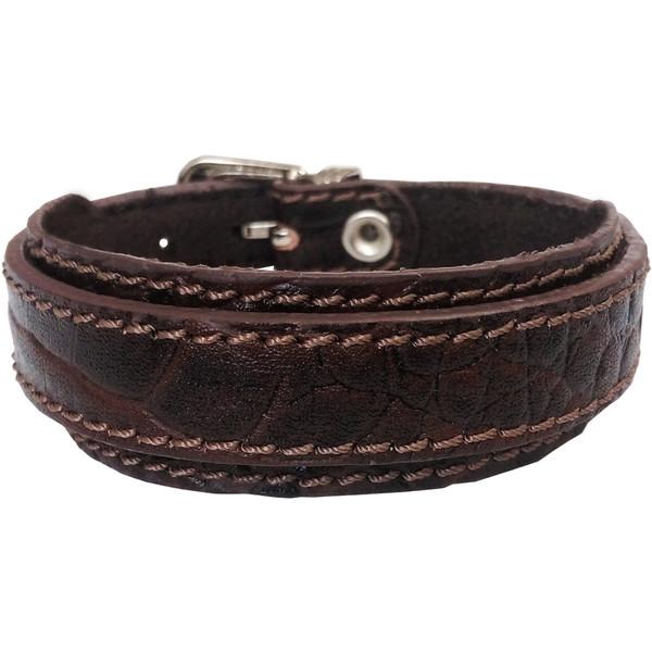 دستبند چرم وارک مدل رهام کد rb237
