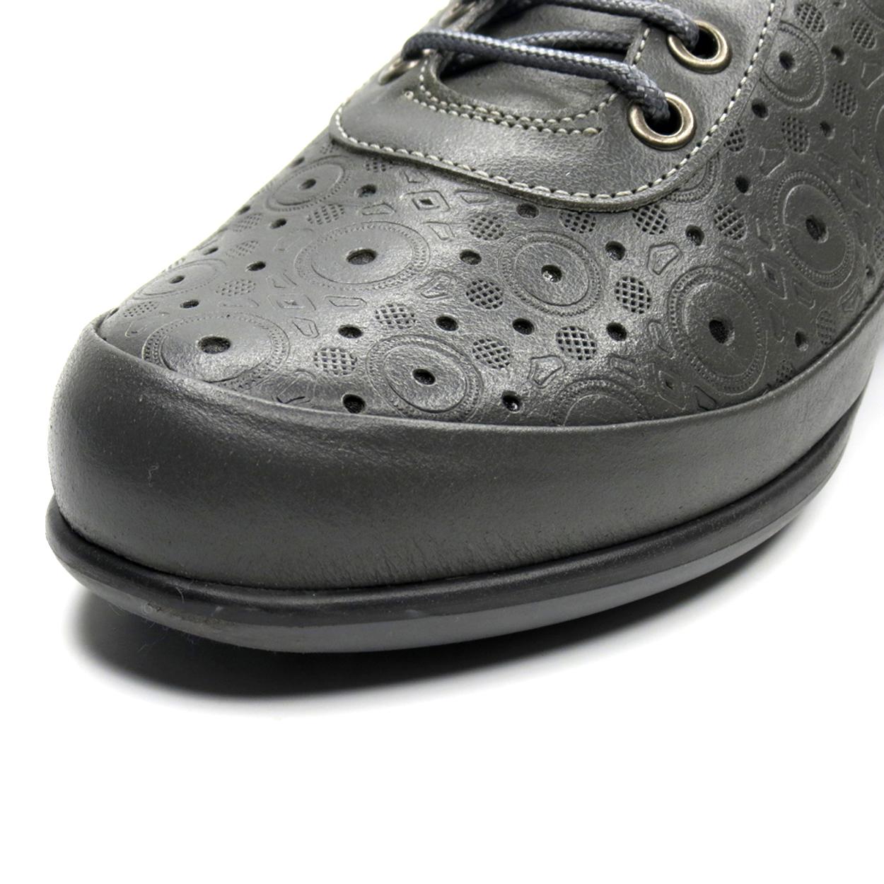 کفش روزمره زنانه آر اند دبلیو مدل 538 رنگ طوسی -  - 10