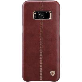 کاور نیلکین مدل Englon Leather مناسب برای گوشی موبایل سامسونگ Galaxy S8 Plus