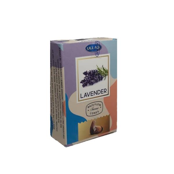 عود مدل ابشاری دستساز طرح lavender بسته 10 عددی
