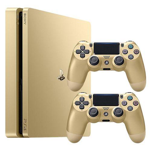 کنسول بازی سونی مدل Playstation 4 Slim کد CUH-2016A Region 2 - ظرفیت 500 گیگابایت به همراه دو دسته