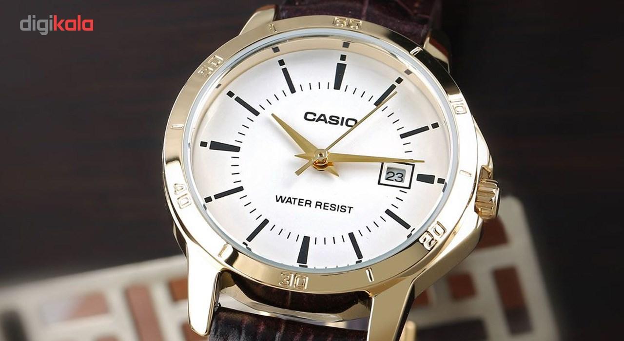 ساعت مچی عقربه ای زنانه کاسیو مدل LTP-V004GL-7AUDF