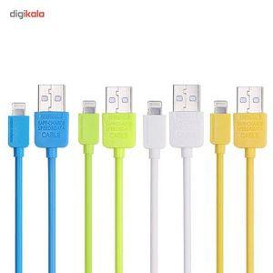 کابل تبدیل USB به لایتنینگ ریمکس مدل Speed به طول 1 متر