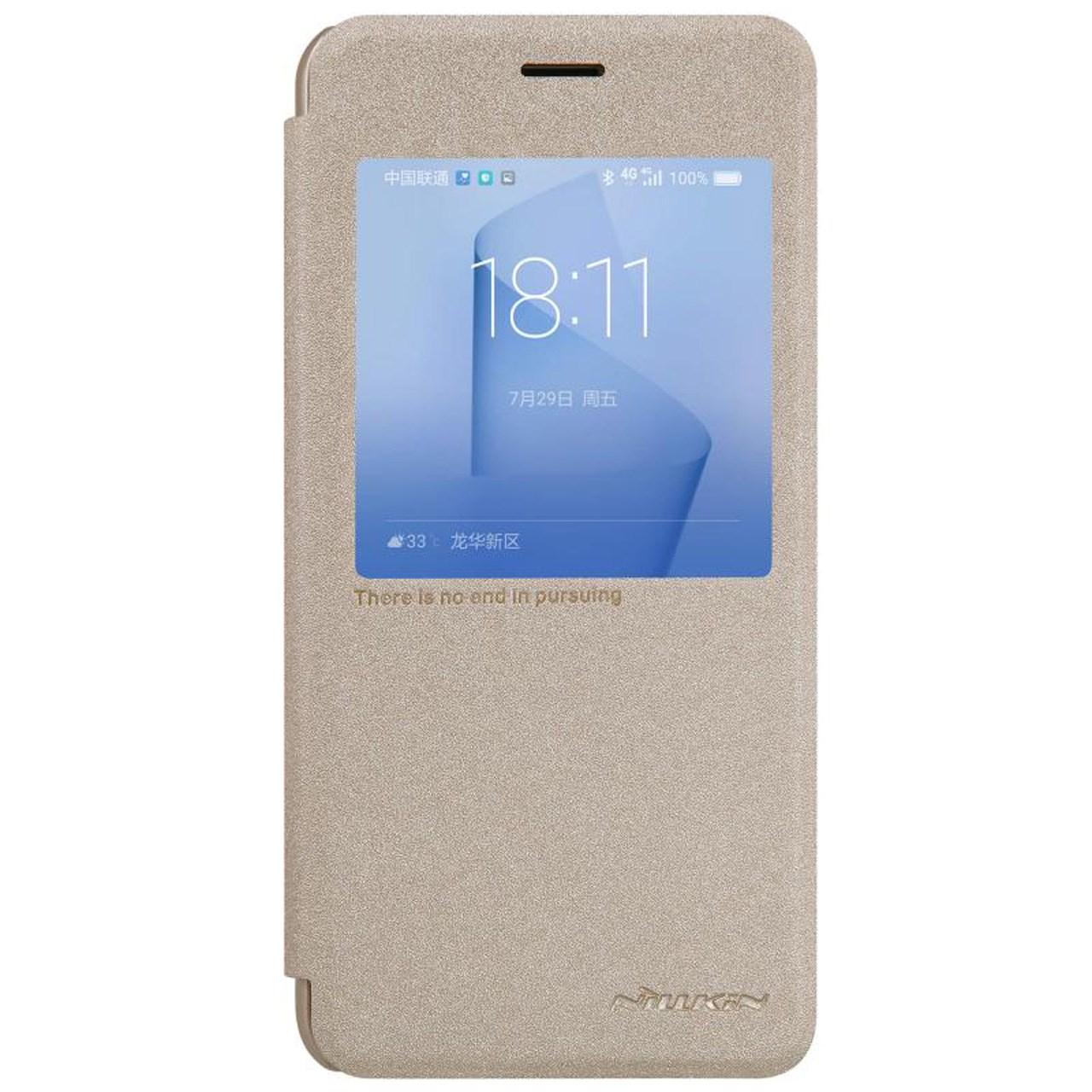 کیف کلاسوری نیلکین مدل New Leather Sparkle مناسب برای گوشی موبایل هوآوی Honor 8