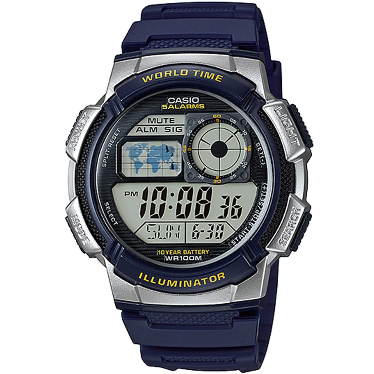 ساعت مچی دیجیتال مردانه کاسیو مدل AE-1000W-2AVDF