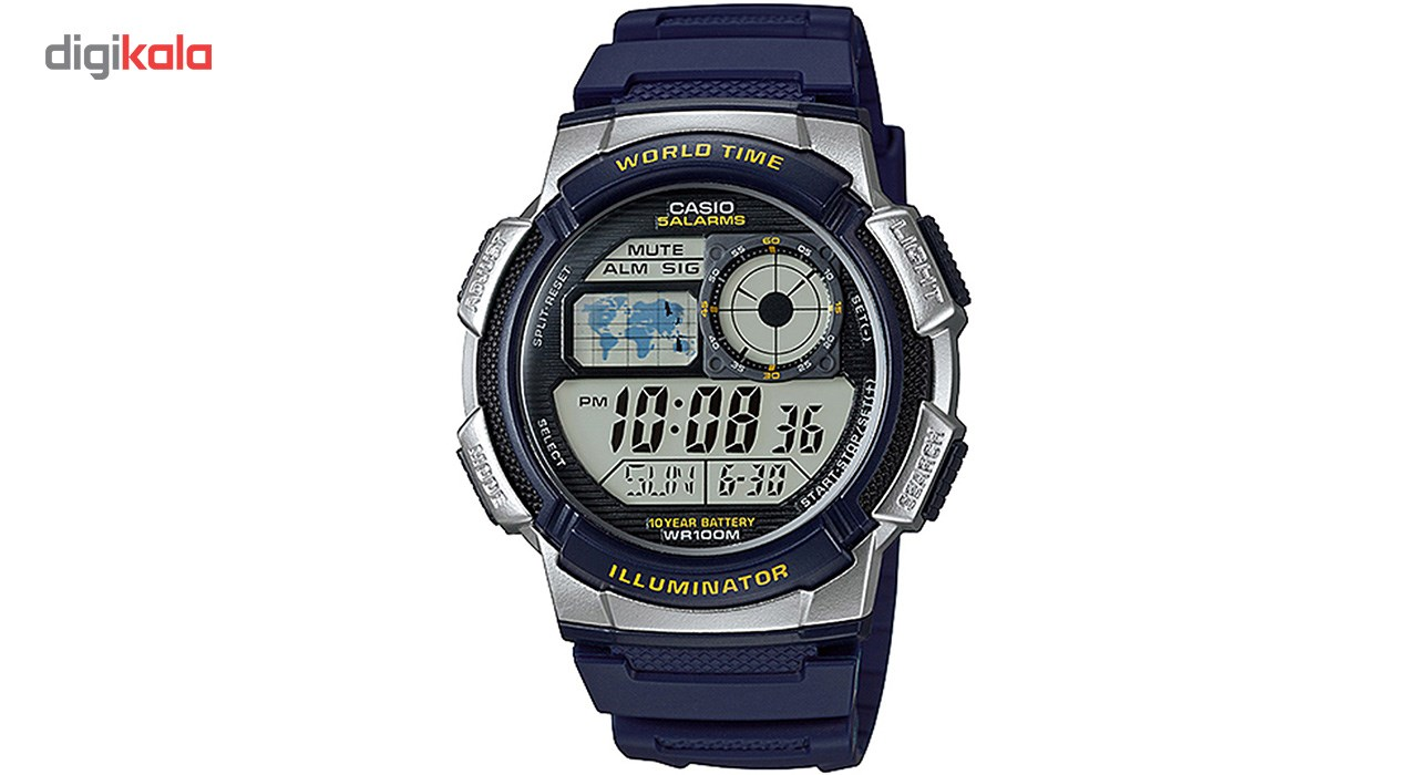 خرید ساعت مچی دیجیتال مردانه کاسیو مدل AE-1000W-2AVDF | ساعت مچی