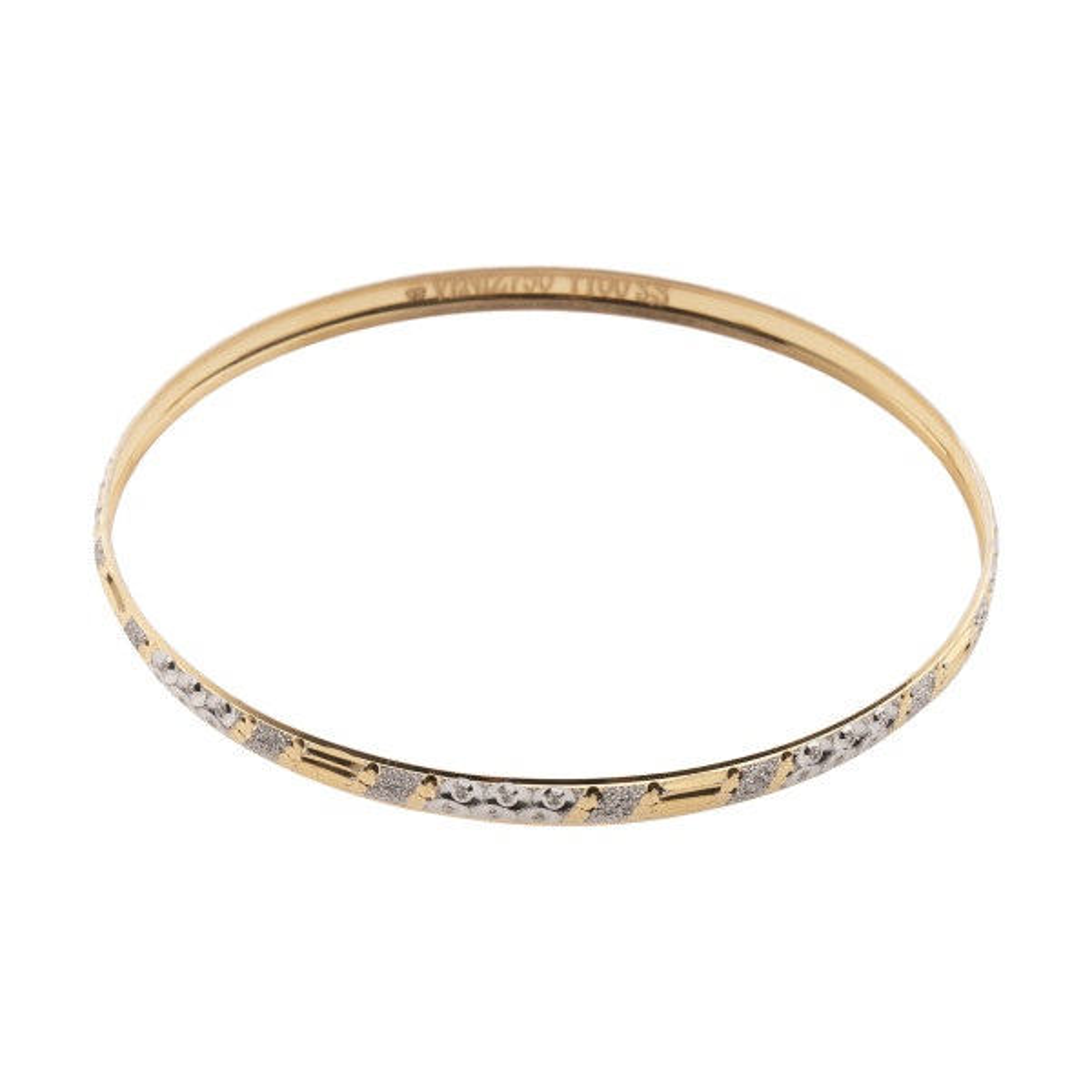 دستبند طلا 18 عیار زنانه مدیسا مدل B3016
