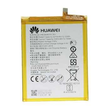 باتری موبایل مدل Hb386483ecw ظرفیت 3340 میلی آمپر ساعت مناسب برای گوشی موبایل هوآوی Nova plus