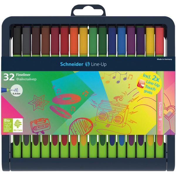 روان نویس 32 رنگ اشنایدر مدل Line-UP
