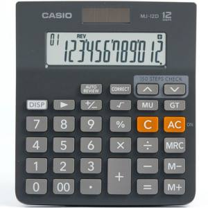 ماشین حساب کاسیو مدل MJ-12D