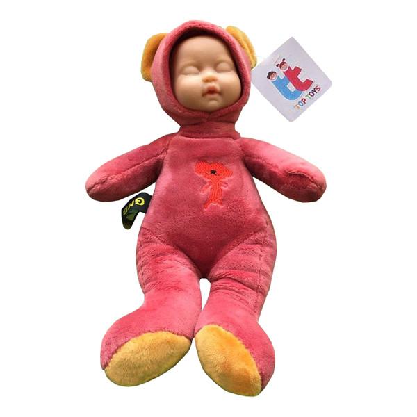 عروسک تاپ تویز طرح نوزاد ارتفاع 25 سانتی متر