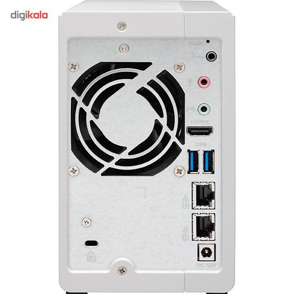 ذخیره ساز تحت شبکه کیونپ مدل TS-251A-2G بدون دیسک