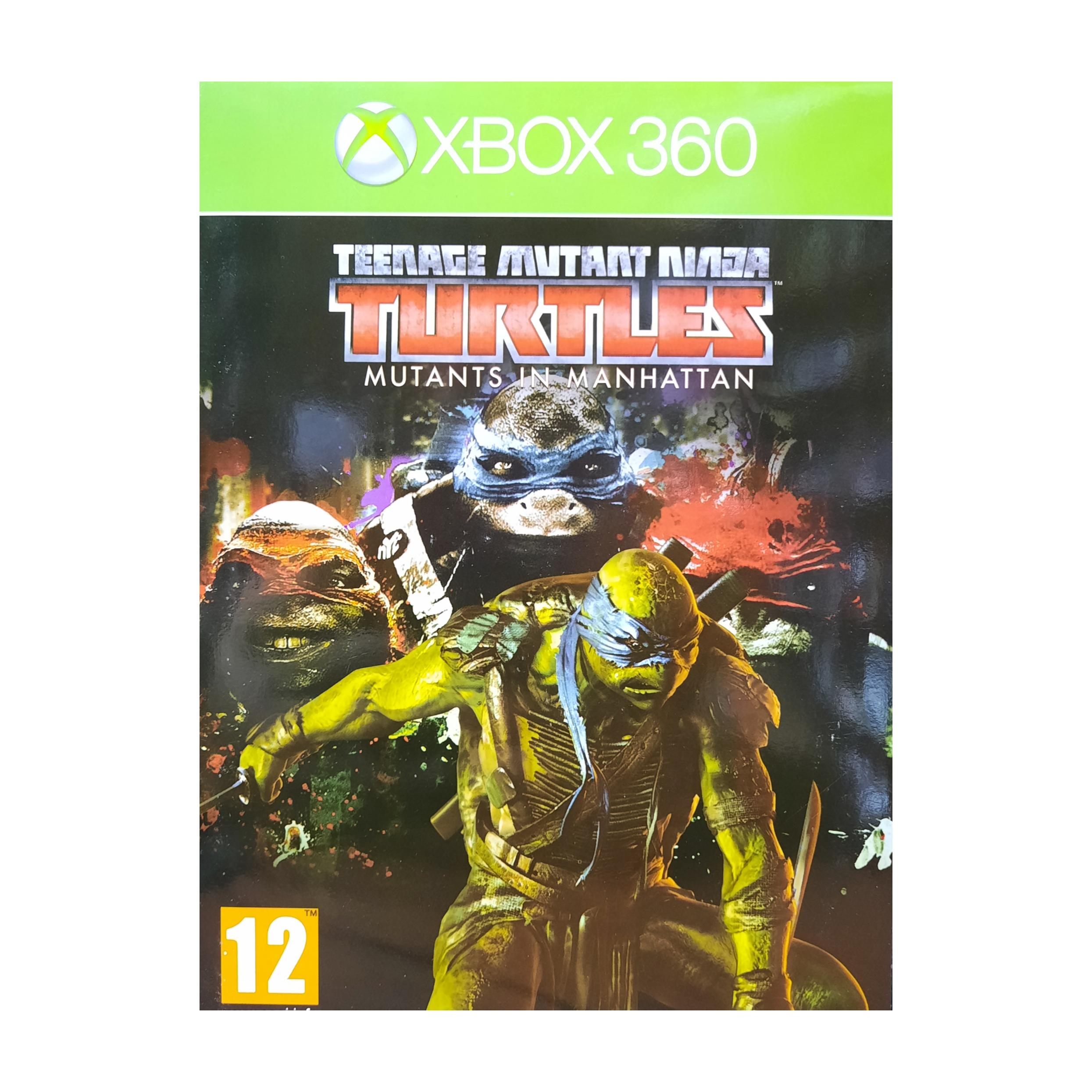 بررسی و {خرید با تخفیف} بازی TMNT Mutants In Manhattan مخصوص Xbox 360 اصل