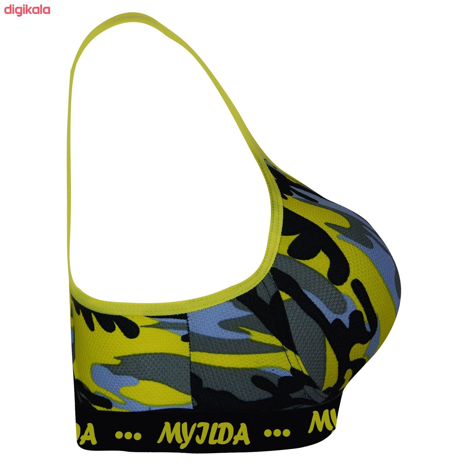 نیم تنه ورزشی زنانه ماییلدا مدل 3532-5 main 1 2