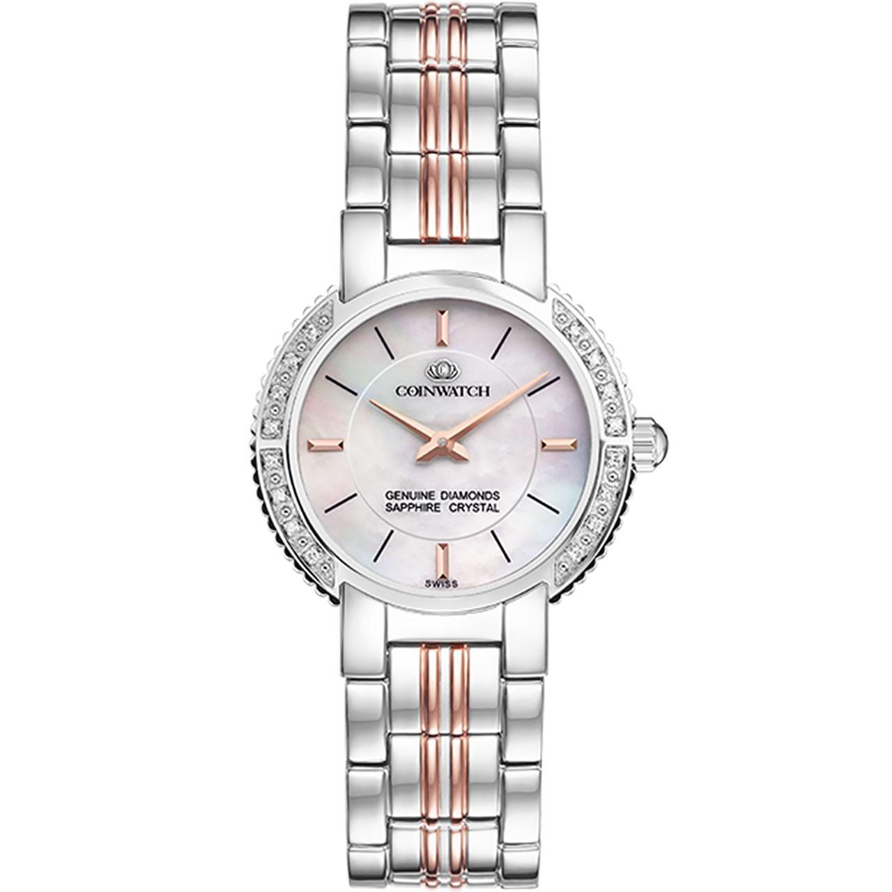 ساعت مچی عقربه ای زنانه کوین واچ مدل C159RWH