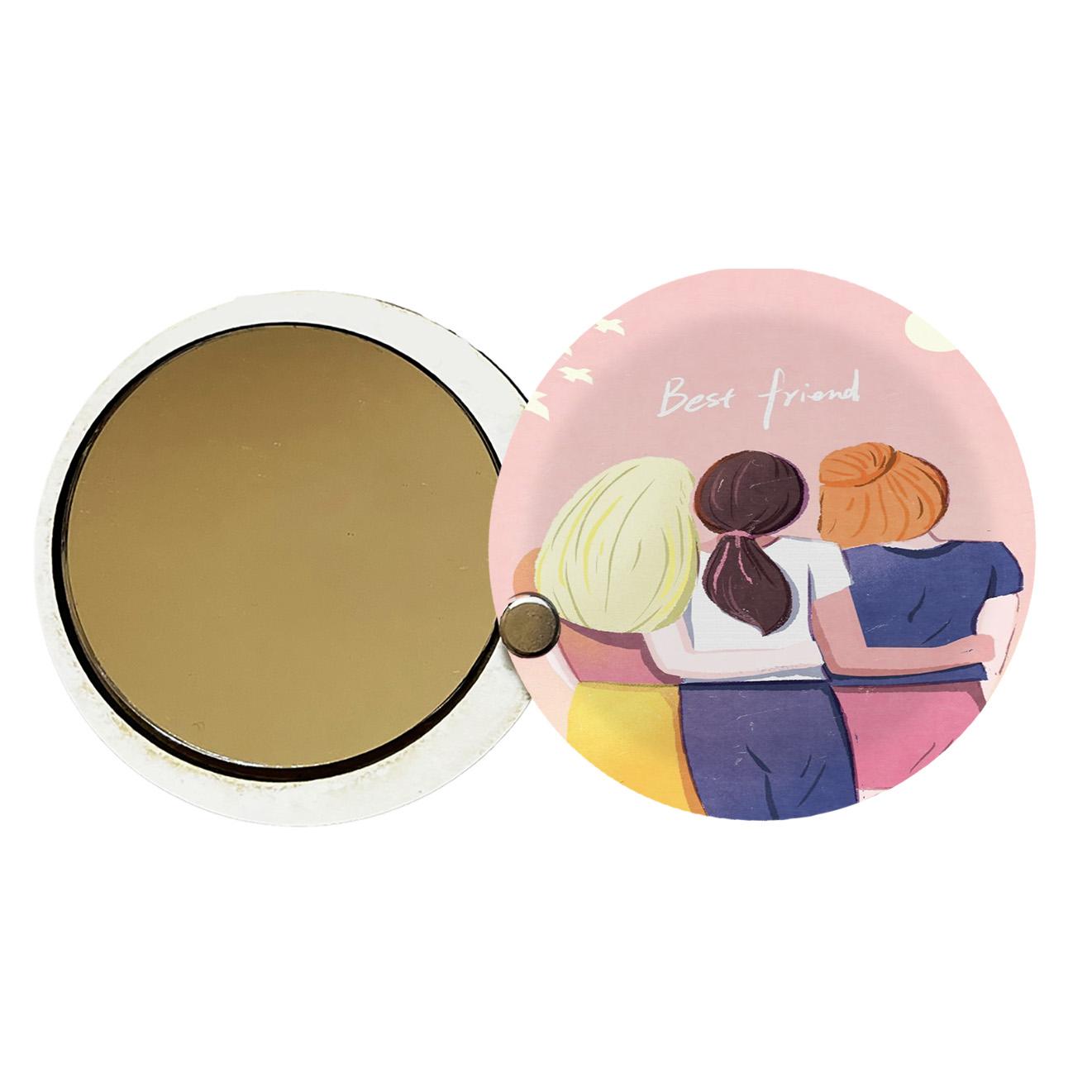 آینه جیبی طرح دخترانه کد ay105