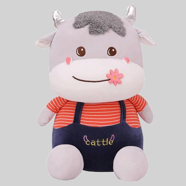 عروسک طرح گاو ارتفاع 27 سانتی متر