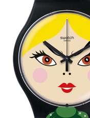 ساعت مچی عقربه ای زنانه سواچ مدل SUOB137 -  - 3
