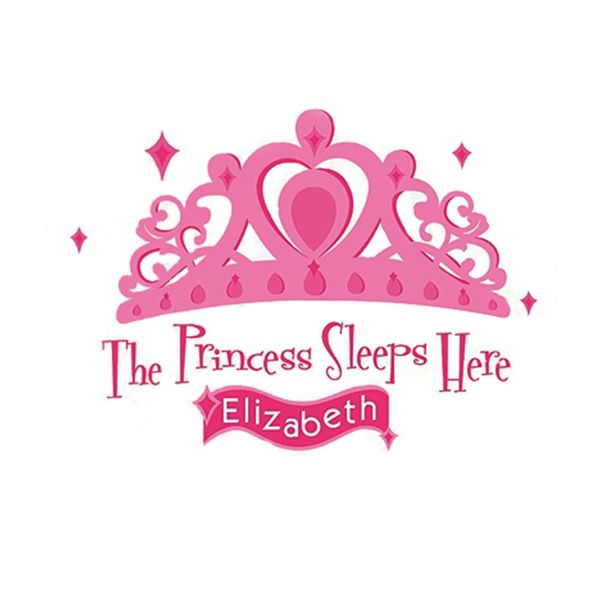 استیکر رومیت مدل Princess Sleeps Here