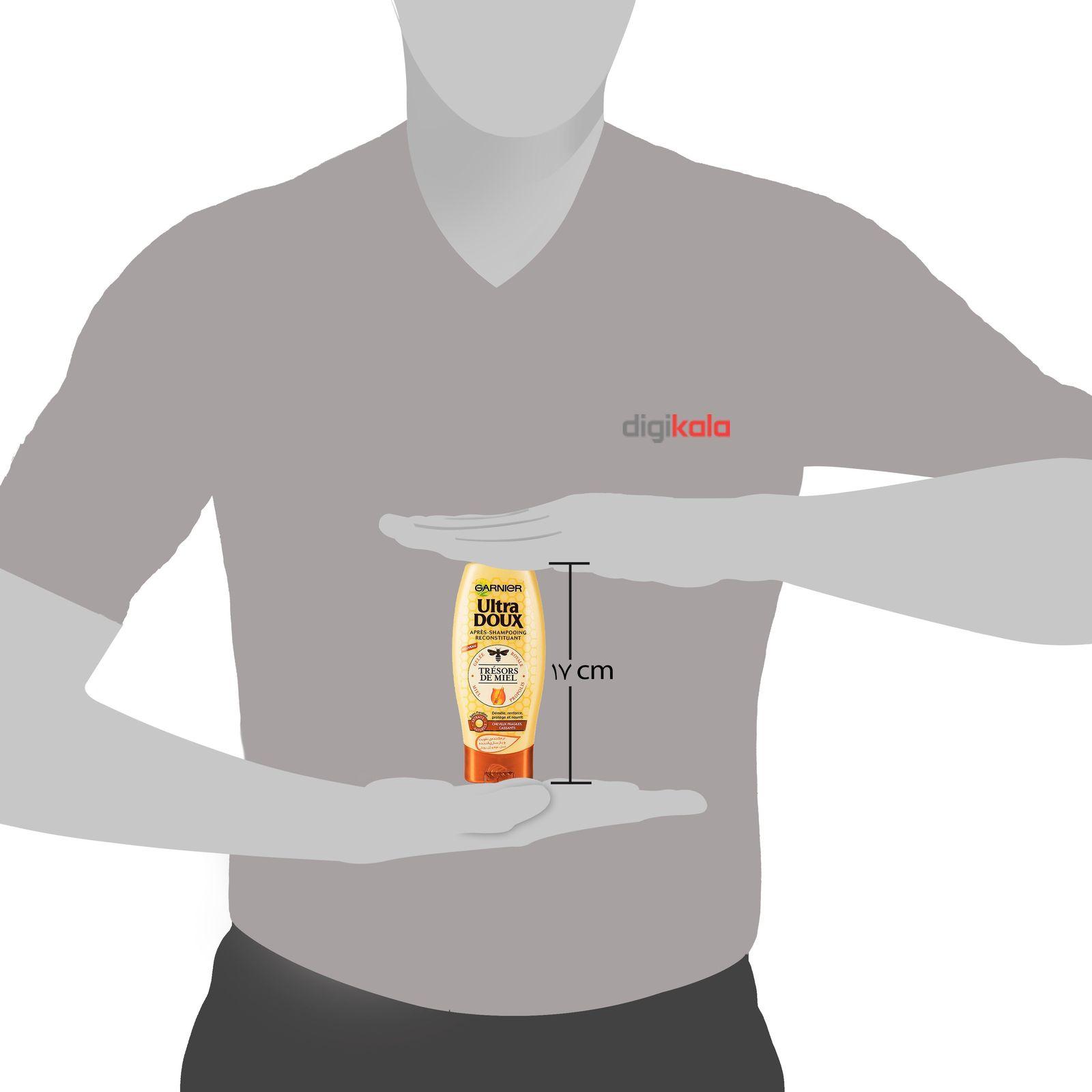 پک شامپو و نرم کننده گارنیه سری Ultra Doux مدل Honey حجم 250 ملی لیتر main 1 7