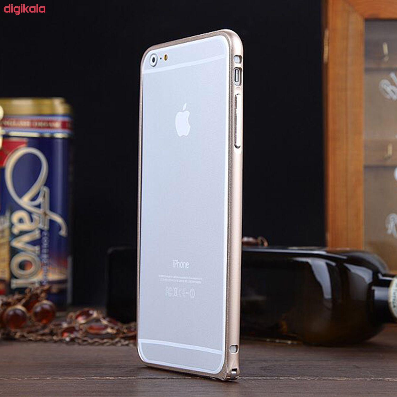 بامپر مدل LF156 مناسب برای گوشی موبایل اپل iPhone 6/6S به همراه محافظ پشت گوشی main 1 4