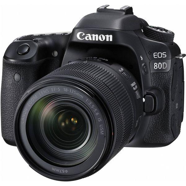 دوربین دیجیتال کانن مدل Eos 80D EF S به همراه لنز 18-135 میلی متر f/3.5-5.6 IS USM