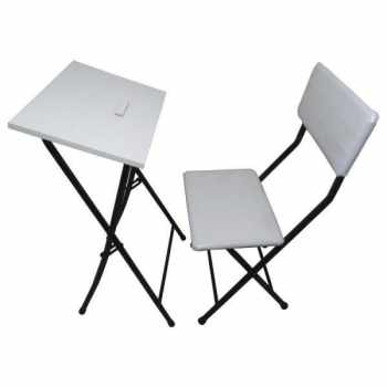 میز و صندلی نماز آریا گستر پارس مدل یاس سفید کد S2