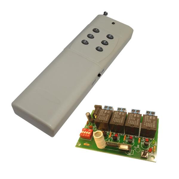 ریموت کنترل چهار کانال مدل CH-4