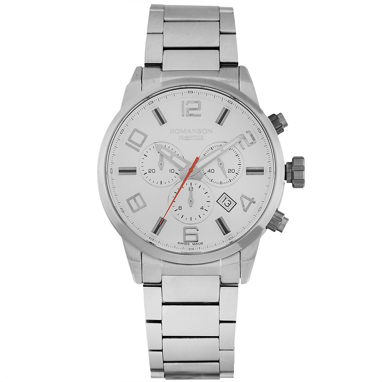 ساعت مچی عقربه ای مردانه رومانسون مدل TM3259HM1WAS2W