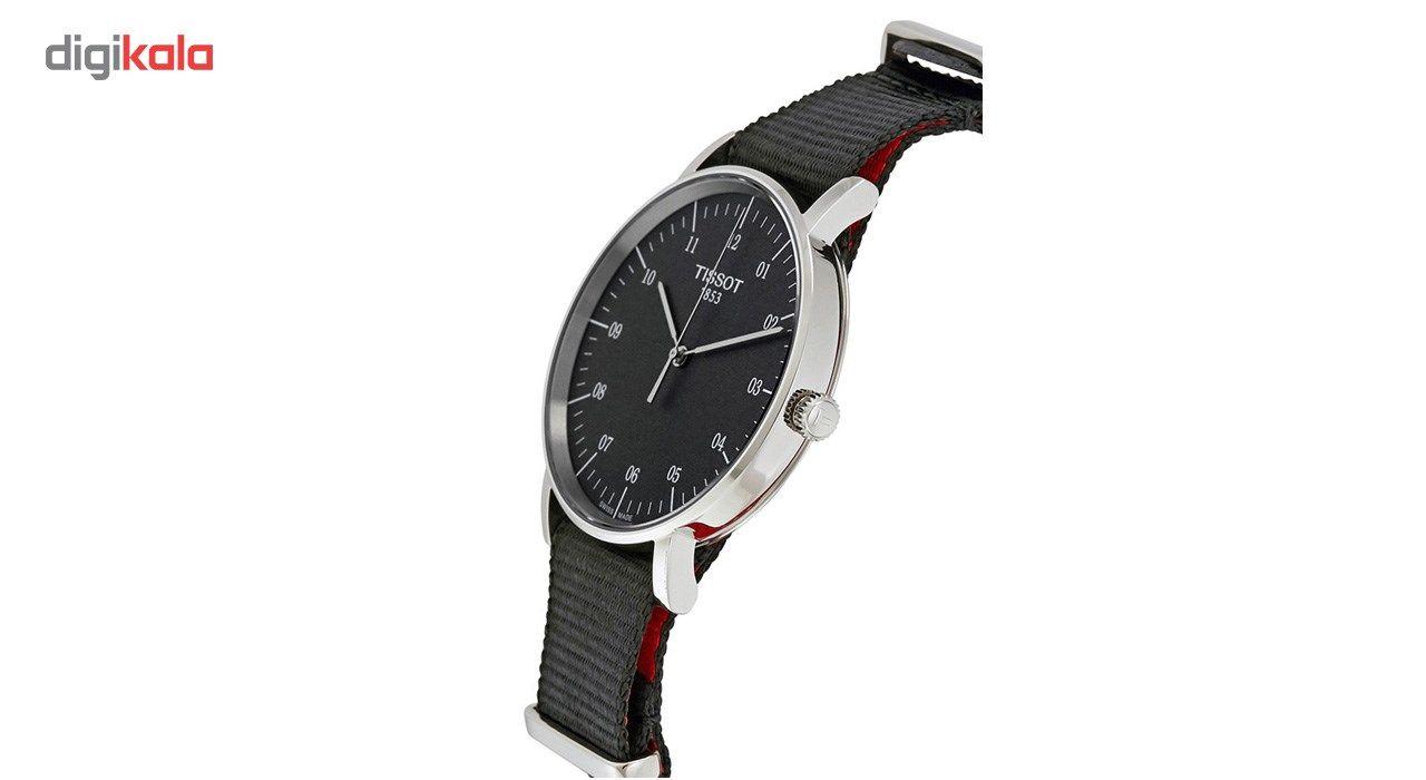 ساعت مچی عقربه ای مردانه تیسوت مدل T109.410.17.077.00 -  - 4