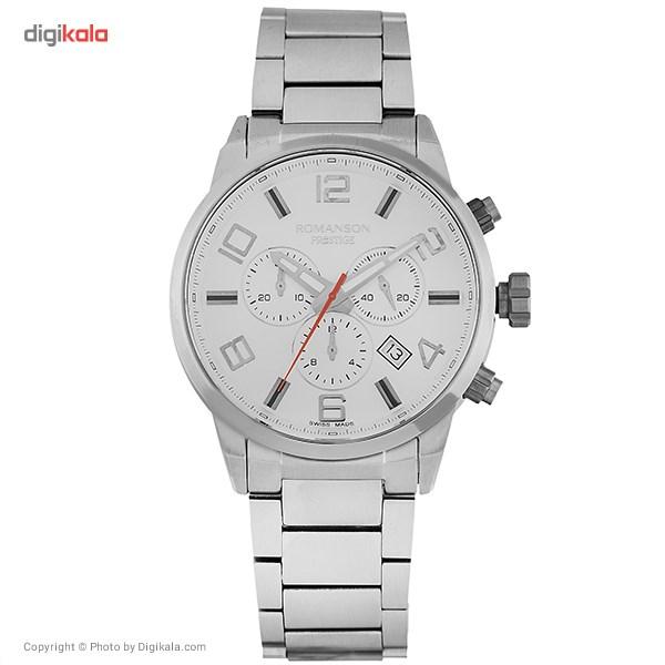 خرید ساعت مچی عقربه ای مردانه رومانسون مدل TM3259HM1WAS2W