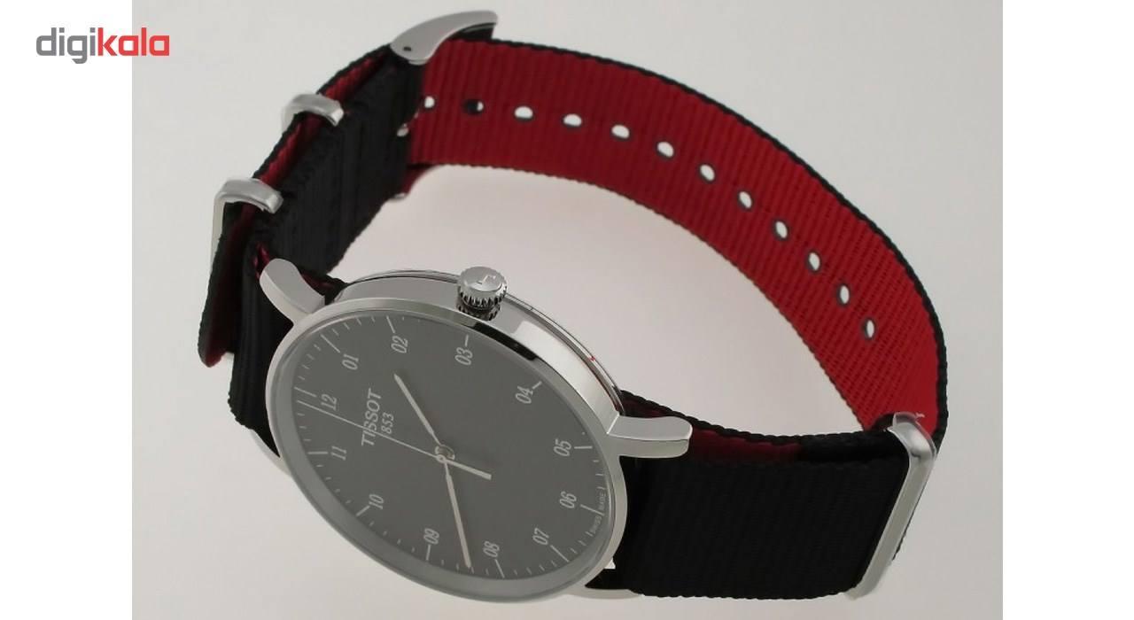 ساعت مچی عقربه ای مردانه تیسوت مدل T109.410.17.077.00 -  - 7