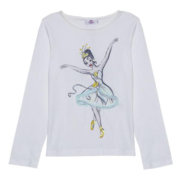 تی شرت دخترانه دیزنی مدل LU-CS009