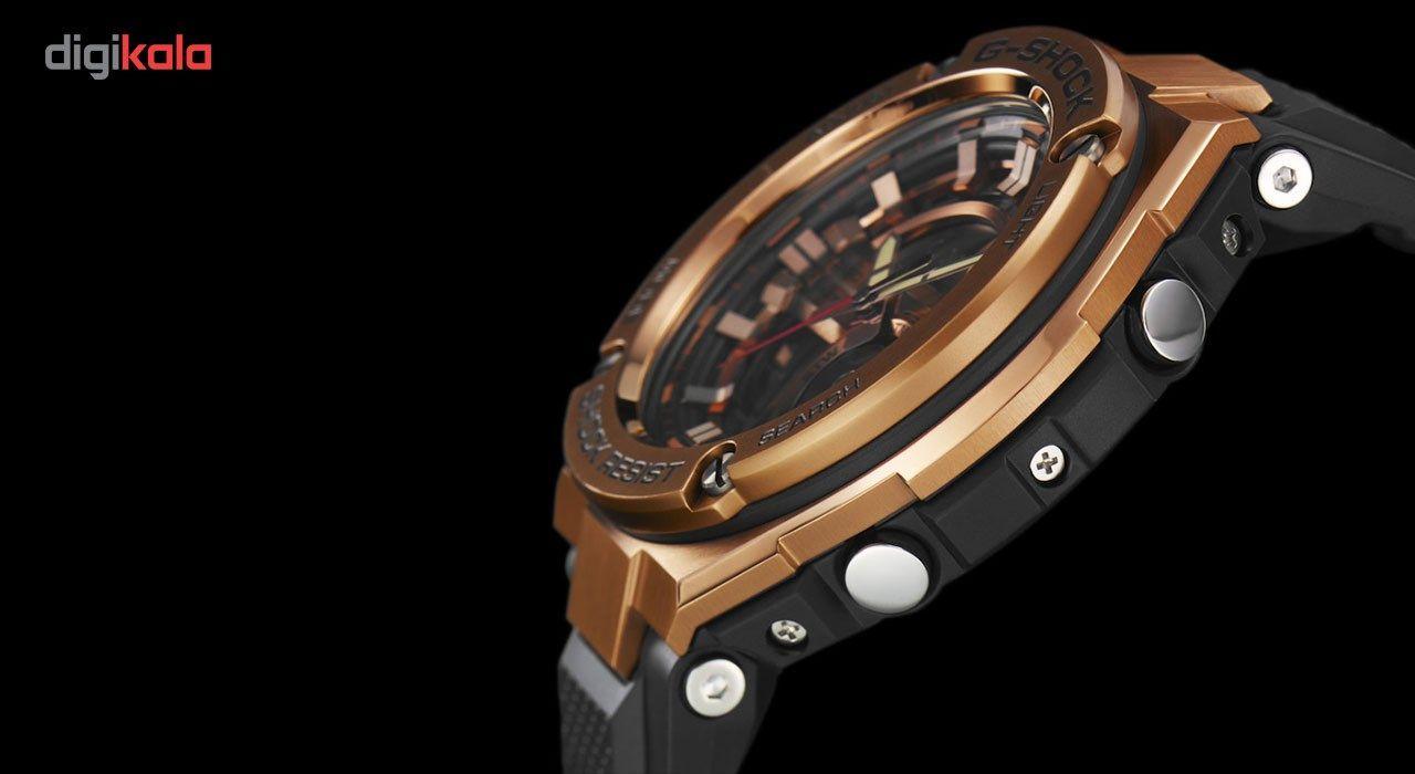 ساعت مچی عقربه ای مردانه کاسیو مدل GST-210B-4A -  - 3