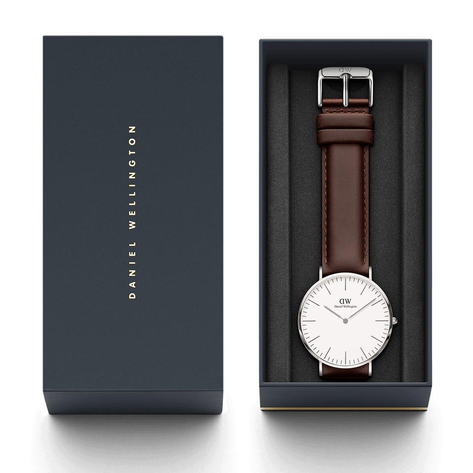ساعت مچی عقربه ای مردانه دنیل ولینگتون کد DW37              خرید (⭐️⭐️⭐️)