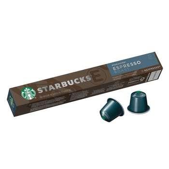 کپسول قهوه اسپرسو رست استارباکس بسته 10 عددی