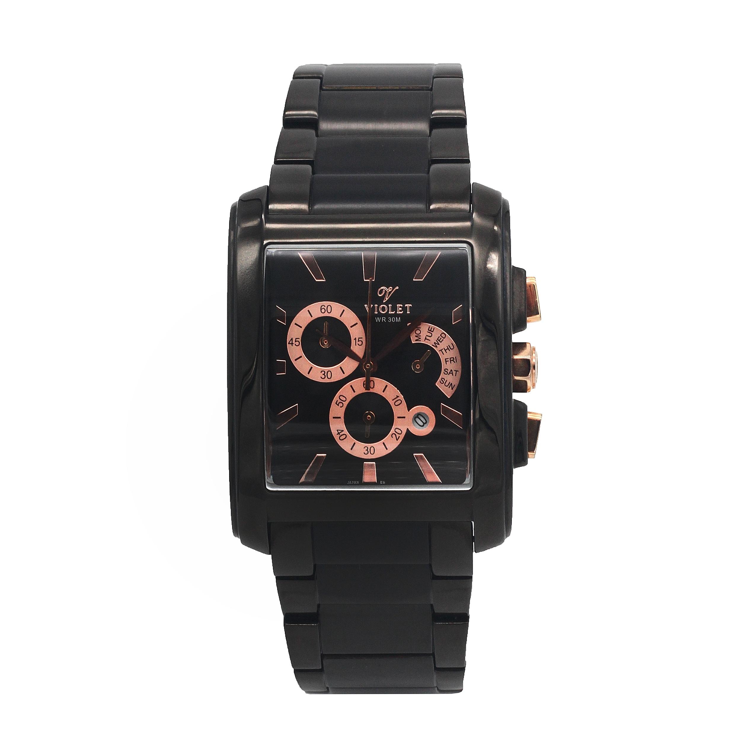 ساعت مچی عقربهای مردانه ویولت مدل 0099G