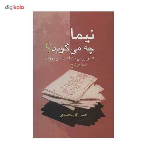 کتاب نیما چه می گوید؟ اثر حسن گل محمدی