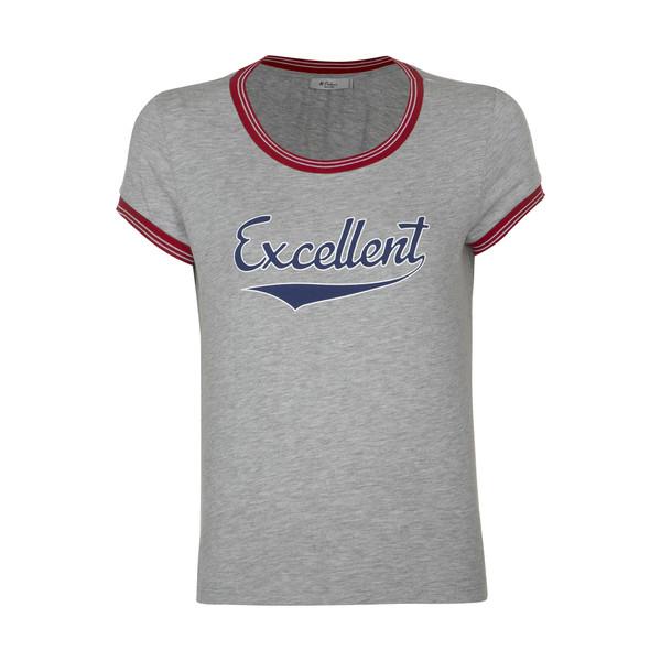 تی شرت زنانه کالینز مدل CL1032845-GREYMELANGE
