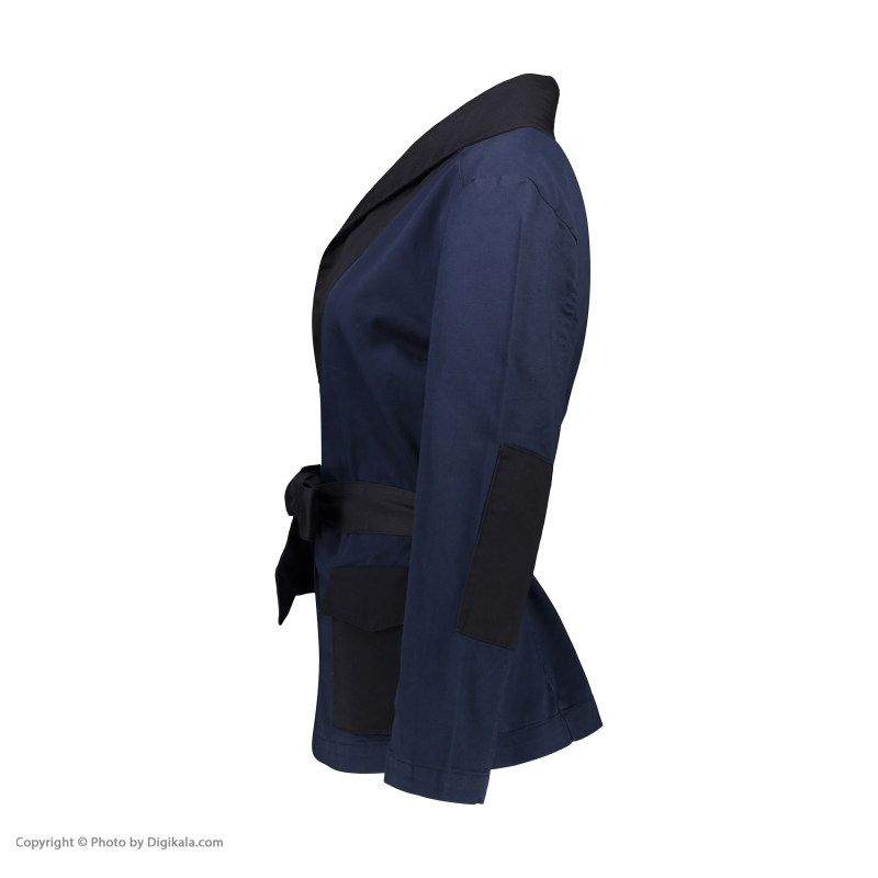 کت زنانه سولا مدل SM101140007-BLUENAVY