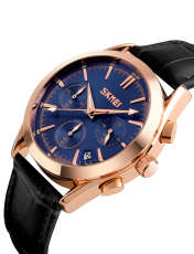 ساعت مچی عقربه ای مردانه اسکمی مدل 9127A-NP -  - 2